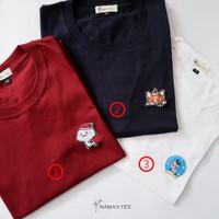 LIMITED EDITION Kaos Natal Namastee - Unisex - Lengan pendek - S, Putih