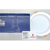 LED PANEL ASSA INBOW BULAT 18W 18 W 18WATT 18 WATT