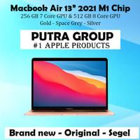 Macbook Air 2021 13 M1 Chip 256GB 512GB Grey Gold Silver 256 512 GB