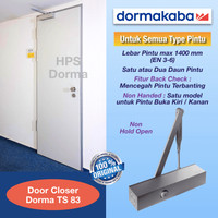 Door Closer Dorma TS 83 NHO (EN 3-6)