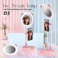 D3 Ring light Live Beauty Lamp / Retractable Live Light Fill Bracket