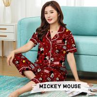 Monalisa Piyama Dewasa CP Jumbo - Mickey Mouse