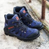 Sepatu Hiking Pria Karrimore Sepatu Boots Safety Tracking ujung Besi