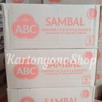 ABC Sambal ABC Saus Sambal Asli Sachet Per Dus