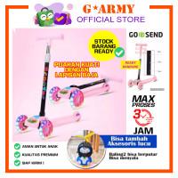 Otoped Anak / Skuter Anak Roda 3 / SCOOTER OTOPED ANAK / SKUTER LIPAT - Pink