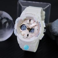Jam Tangan Wanita Digitec Dual Time DG 2111 T Original - Putih