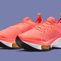 Nike Air Zoom Tempo Next% / size 11 (45) 29cm Bright Mango Ori Receipt