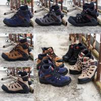 Sepatu Gunung Pria Outdoor Karrimore Sepatu Boots Safety Ujung besi