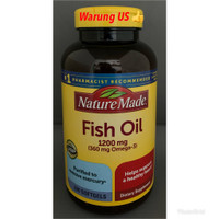 Nature Made Fish Oil 1200mg (Import USA) 200softgels