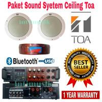 Paket Sound System Ceiling Toa 2 pcs