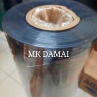 Plastik mika kaku 0,2mm / Rigid Pvc sheet super clear transparan 0.2mm