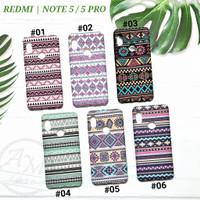 """ REDMI NOTE 5 PRO "" Soft case Tribal Batik Casing Glow In The Dark"