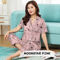 Monalisa Piyama Dewasa CP Jumbo - Moonstar Pink