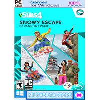 THE SIMS 4 SNOWY ESCAPE UPDATE - EP10- GAME PC - 2 DVD
