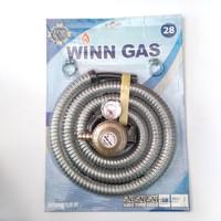 selang paket winn gas regulator w 28 meter