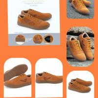 Fashion Sepatu Pria Kuzatura KZS 551 Cokelat