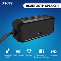 TACOO Bluetooth Speaker Wireless Hi-Fi Sound Super Bass Waterproof