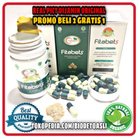 Fitabets 100% Asli Original Obat Diabetes Kencing Manis Herbal BPOM