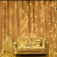 3 x 3 m Led Tirai Curtain Twinkle Dekorasi Cafe Resto Wedding Hotel