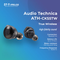 Audio Technica ATH-CKS5TW Solid Bass Wireless In-Ear Headphone