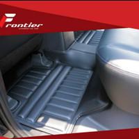 Karpet mobil mangkok frontier 5D carbon All New Avanza 3 baris