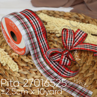 Pita 27016525 2.5cm x 10yard -Pita kado -Hamppers -pita motif