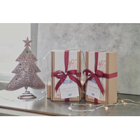 CHRISTMAS AND NEW YEAR HAMPERS REGULAR SET - MINI BOUQUET A, SILKYWOOD