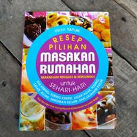Buku Resep Pilihan Masakan Rumahan Makanan Ringan & Minuman