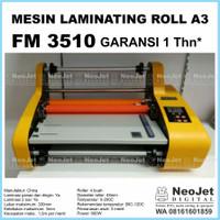 Mesin laminating roll A3 FM 3510 Laminasi FM3510 Kertas Doff Glossy
