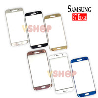 GLASS LCD - KACA TOUCHSCREEN SAMSUNG S7 EDGE G935 - Putih