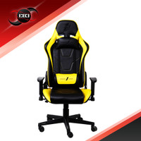 1STPLAYER GAMING CHAIR FK2 - BLACK YELLOW