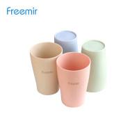 Freemir Gelas Wheat Straw/Gelas Minum isi 4 warna
