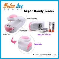 Super Handy Sealer Pengemas Makanan / Mini Hand Sealer Perekat Plastik