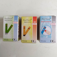Paket Strip Easy Touch Test Gula Darah, Asam Urat, Kolesterol