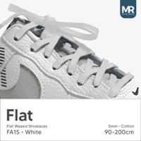 Tali Lilin Gepeng (Finest) 5mm 90cm Aneka Warna Untuk Sepatu Sneakers