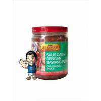 Lee Kum Kee Chili Garlic Sauce- Saus Cabai Dengan Bawang Putih 226 g