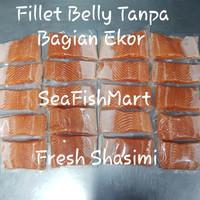 Ikan Salmon fillet @250gram (Norwegian Salmon Premium)