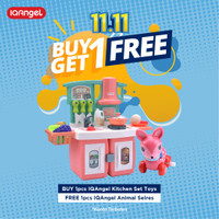 IQAngel Kitchen Set Toys / Mainan Alat Masak Anak / Mainan Masakan