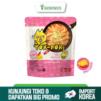 Korinus K - Bunsik Tokpoki SPICY CHEESE / Tteokbokki / Tok-Poki Instan