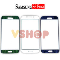 GLASS LCD - KACA TOUCHSCREEN SAMSUNG S6 EDGE - G925 - Biru