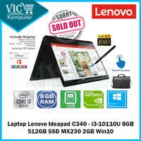 Laptop Lenovo Ideapad C340 - i3-10110U 8GB 512GB SSD MX230 2GB Win10