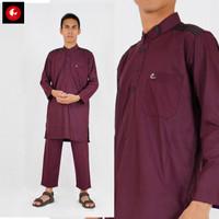 Setelan Gamis Turki Al-Isra Pakaian Gamis Pria Fashion Muslim