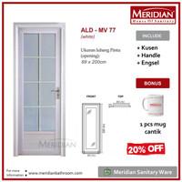 MERIDIAN Pintu Aluminium Kamar Mandi ALD MV 77