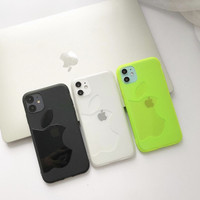 LOGO CLEAR CASE iPhone 7 - 11 PRO MAX