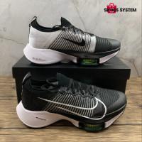 Nike Air Zoom Tempo Next% Flyknit 'Black White Volt'