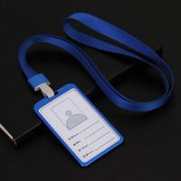 NAME TAG Metal ID CARD HOLDER ID CARD Almunium Kalung Nama Dada