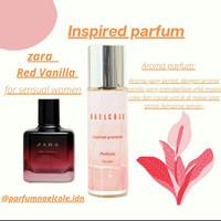 parfum wanita aroma inspired dari Zara Red Vanilla by parfumnaelcole
