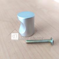 T. 646 Aluminium / Handle Knop Bulat / Tarikan Laci Lemari Kabinet