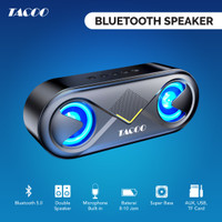 TACOO Bluetooth Speaker Hi-Fi Sound Wireless Super Bass