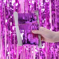 Tirai Rumbai Foil 2 Meter / Curtain Slinger Foil / Backdrop Foil